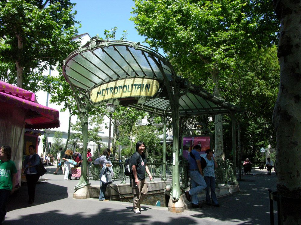 Abbesses station - 1
