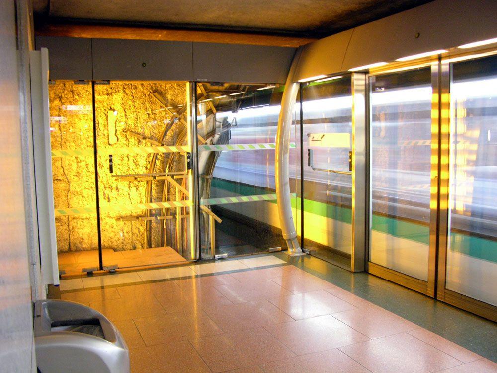 Bercy station on Line 14