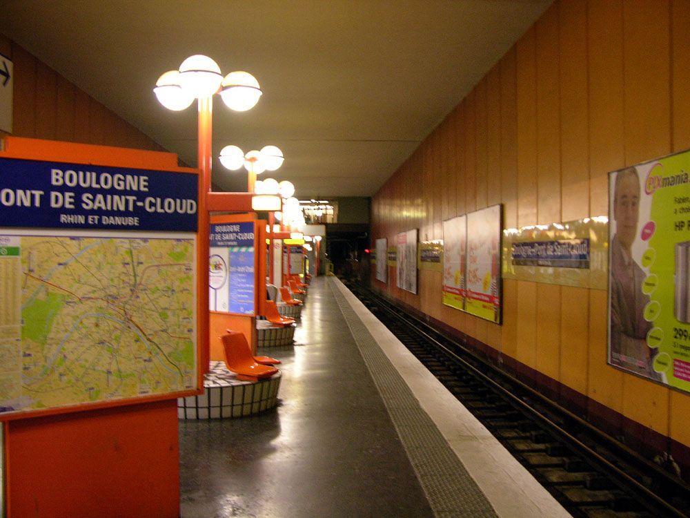 Boulogne - Pont de Saint-Cloud - 1