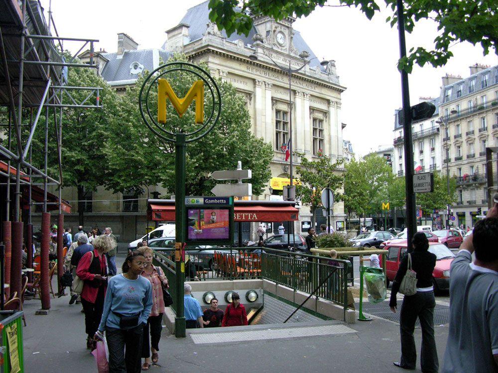 Gambetta station - 1