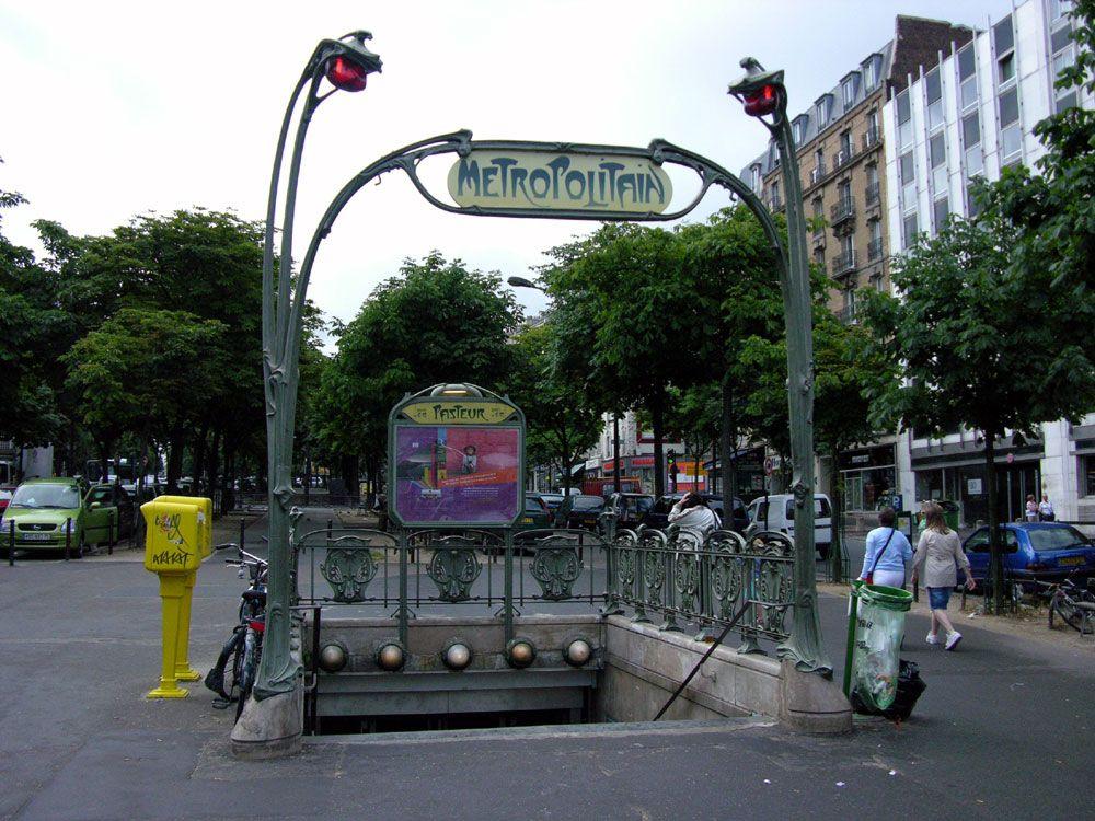 Pasteur station - 1