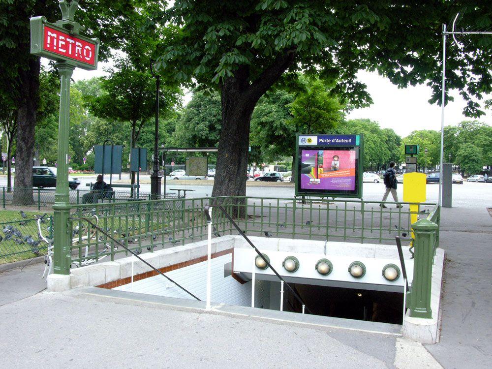 Porte d'Auteuil station - 1