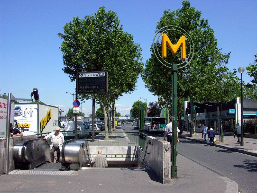 Porte de la Chapelle station - 1